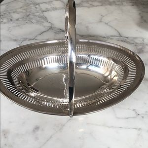 Other - Silver toned Basket